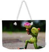 Froggy Sorry Weekender Tote Bag