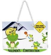 Frogs  Weekender Tote Bag