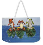 Frogs Without Sense Weekender Tote Bag