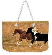 Frolicking Horses Weekender Tote Bag