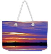 From A Distance  Sundown Weekender Tote Bag