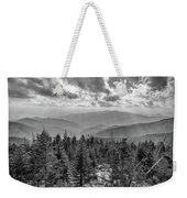 From Clingmans Dome Weekender Tote Bag