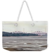 From Cramond To Forth Bridge, Forth Road Bridge, And Forth Crossing Weekender Tote Bag
