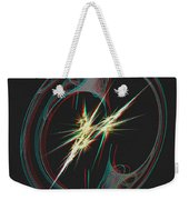 From Nothing - Use Red-cyan 3d Glasses Weekender Tote Bag
