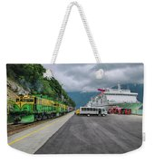 From Ship To Train Weekender Tote Bag