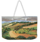 From Solsbury Hill Weekender Tote Bag by Anna Teasdale