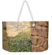 From The Castle Walls Weekender Tote Bag