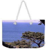 From The Cliff Of Lands' End 02 Weekender Tote Bag