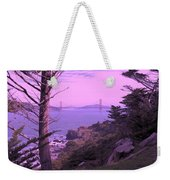 From The Cliff Of  Lands End 06 Weekender Tote Bag