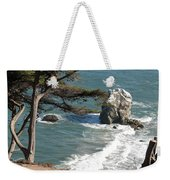 From The Cliff Of Lands' End Weekender Tote Bag