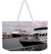 From The Ferry Dock Weekender Tote Bag
