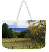 From The Field To The Mountains Weekender Tote Bag