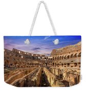From The Floor Of The Colosseum Weekender Tote Bag