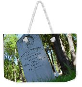 From The Grave Weekender Tote Bag