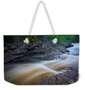From The Top Of Temperence River Gorge Weekender Tote Bag