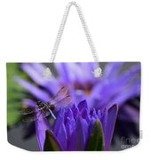 From The Water Lily Garden Weekender Tote Bag