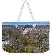 From Woods To Snow Weekender Tote Bag