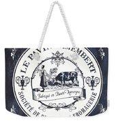 Fromage Label 1 Weekender Tote Bag by Debbie DeWitt