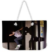 Front Crook Reflection Weekender Tote Bag