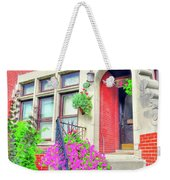 Front Entrance Weekender Tote Bag