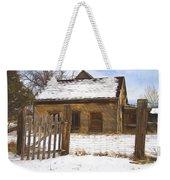 Pioneer Home Painterly Impression Weekender Tote Bag