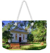 Front Of A Small Church Weekender Tote Bag