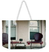 Front Porch In Moscow Ohio Weekender Tote Bag