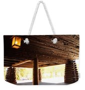 Front Porch Of Old Faithful Inn Weekender Tote Bag