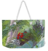 Front Porch View Weekender Tote Bag