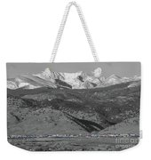 Front Range View North Boulder Colorado Weekender Tote Bag