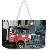 Front Of A Ford 9000 Powerhouse Weekender Tote Bag