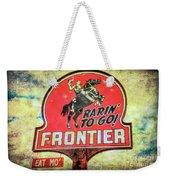 Frontier Gas Weekender Tote Bag