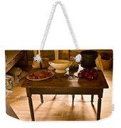 Frontier Meal Weekender Tote Bag