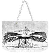 Frost Flying Machine, 1891 Weekender Tote Bag