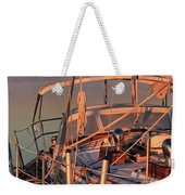 Frost On The Boat Weekender Tote Bag