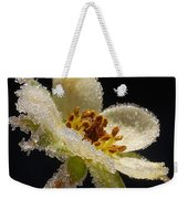 Frost On The Flower Weekender Tote Bag