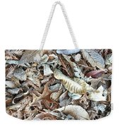 Frost On The Leaves I Weekender Tote Bag
