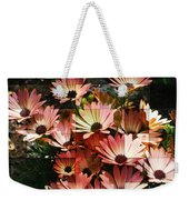 Frosted African Daisies Weekender Tote Bag