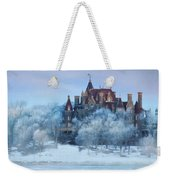 Frosted Castle Weekender Tote Bag by Lori Deiter