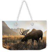 Frosted Grass For Breakfast Weekender Tote Bag