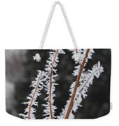Frosty Branches Weekender Tote Bag by Carol Groenen