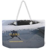 Frosty Canopy Weekender Tote Bag