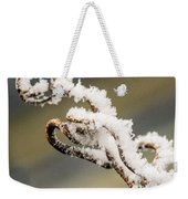 Frosty Curlique With A Twist Weekender Tote Bag