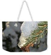 Frosty Drip Weekender Tote Bag
