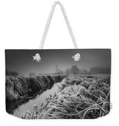 Frosty Field Weekender Tote Bag