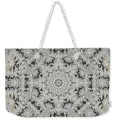 Frosty Lace Doily Weekender Tote Bag