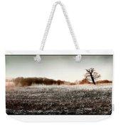 Frosty Landscape Weekender Tote Bag
