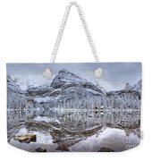 Frosty Morning In Pano Weekender Tote Bag