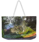 Frosty Morning Near Nant Clwyd, North Wales Weekender Tote Bag