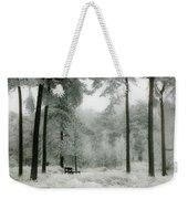 Frosty Paradise Weekender Tote Bag